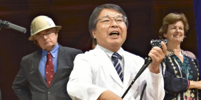 Forrás: The Yomiuri Shimbun/Yomiuri/Makoto Mitsui