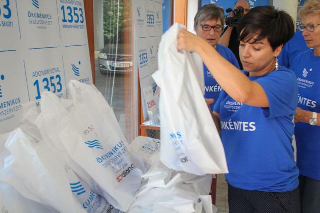 A kárpátaljai rászorulókat támogatja az Ökumenikus Segélyszervezet