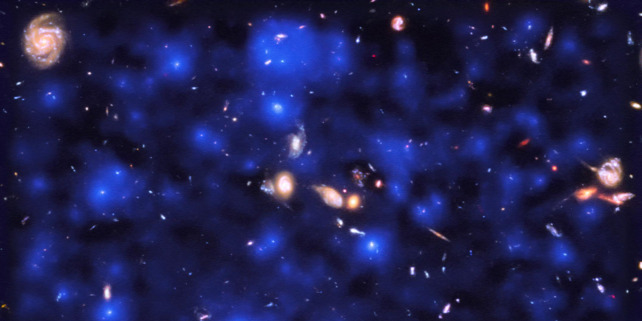 Forrás: ESA/Hubble & NASA, ESO/ Lutz Wisotzki et al.