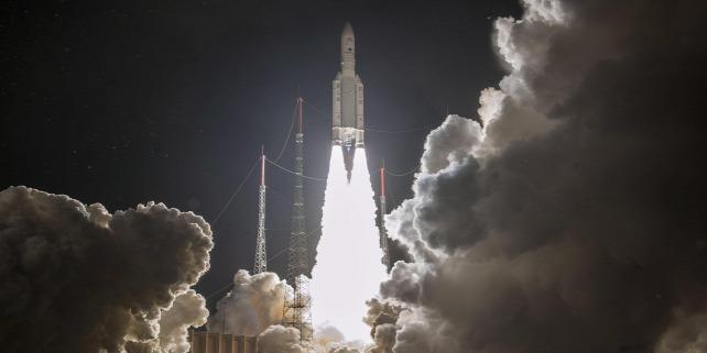 Forrás: MTI/EPA/ESA/CNES/ArianeSpace/Jm Guillon