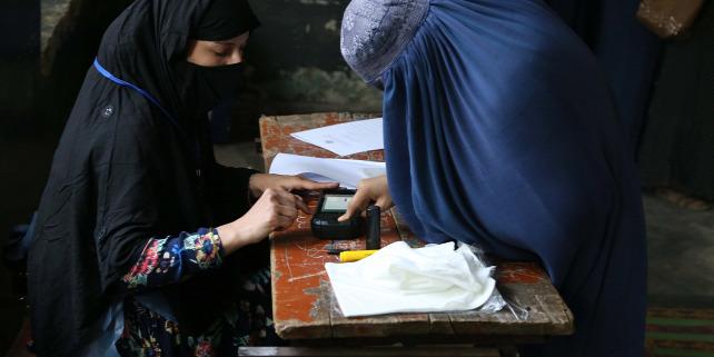 Forrás: MTI/EPA/Ghulamullah Habibi